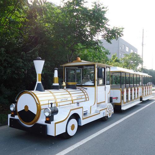 """[明天记得]与观光小火车""""约会""""朗逸旅游观光小火车"""
