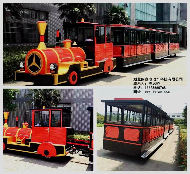 电动旅游观光小火车@旅游景区