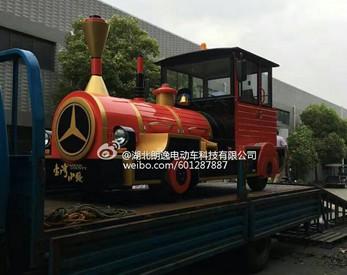 观光小火车-发货现场