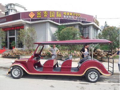 【鑫泰国际】房地产货比三家采购6座朗旭电动老爷车