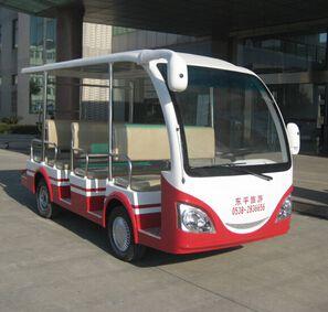 【山东】东平旅游成功购买朗逸8座电动观光车