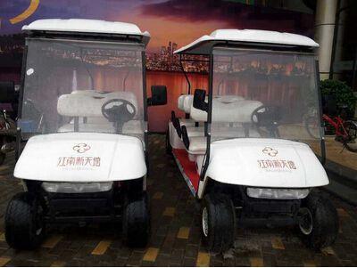 武汉(江南新天地)采购朗逸电动高尔夫球车