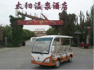 【甘肃】敦煌太阳温泉酒店朗逸电动观光车案例