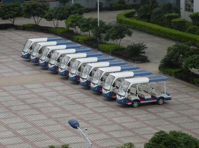 <珠海>海泉湾度假区大批量购买朗逸电动观光车