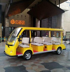 广州【长隆酒店】成功采购朗逸11座电动观光车