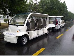 梁子湖【风景区】成功使用朗逸电动观光车