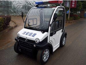 (武汉)交警大队用朗逸电动巡逻车执法