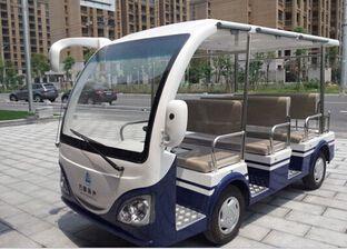 朗逸为(浙江)上虞市万峰房产提供了电动8座电动观光车