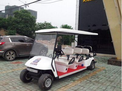 鄂州【天龙国际】成功购买朗逸8座高尔夫球车