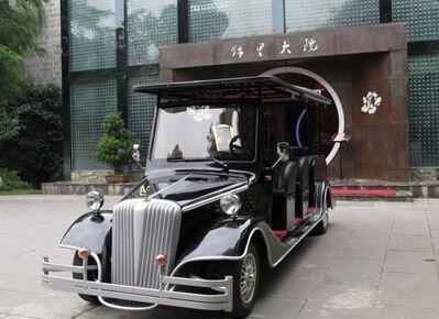 【成都】锦里大院成功购买朗逸电动老爷车