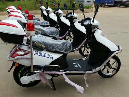 【武汉】洪山派出所多次采购朗逸两轮巡逻车