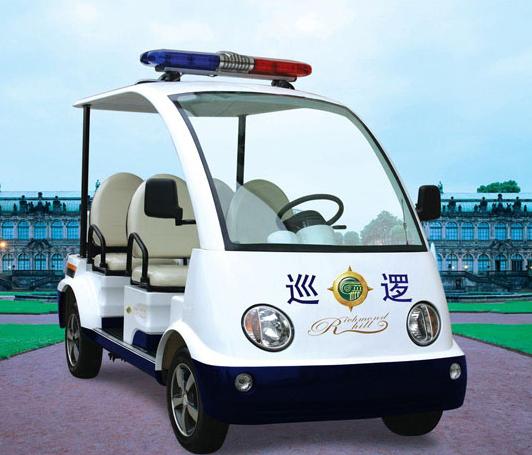 厂区巡逻车,物业巡逻车、小区治安巡逻车使用案例