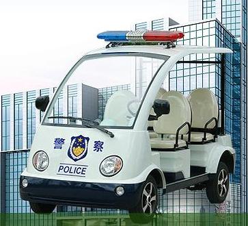 潍坊市高新区电动巡逻警车开进21个一线社区