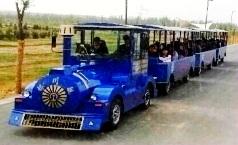 【银川】黄河军事文化博览园-银川号无轨观光小火车案例