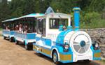 观光小火车亮相五营国家森林公园
