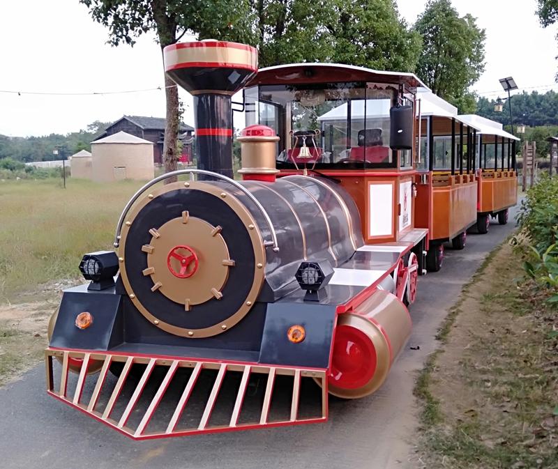 疫情后观光小火车为景区创收