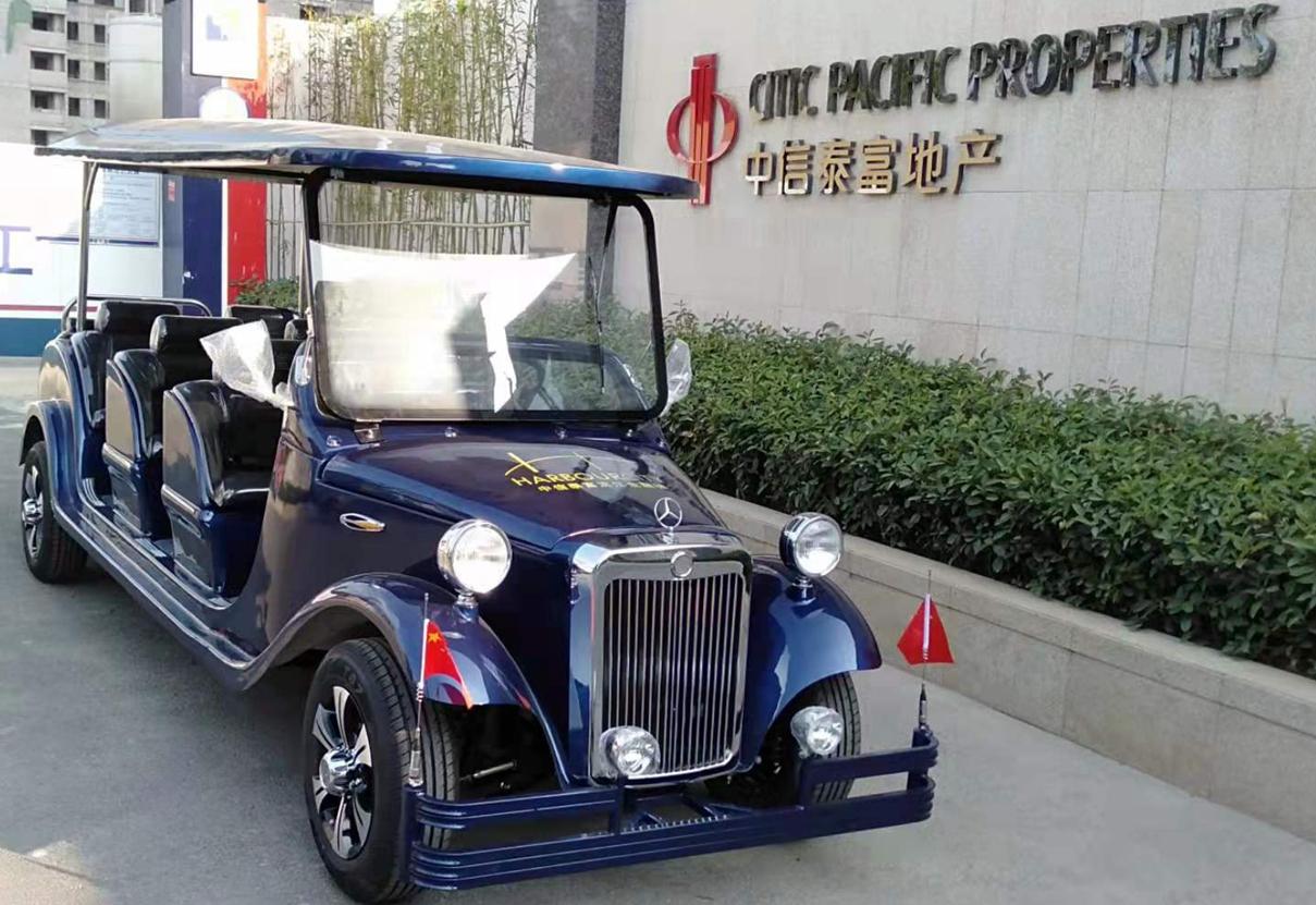 中信泰富地产项目再次采购电瓶看房车