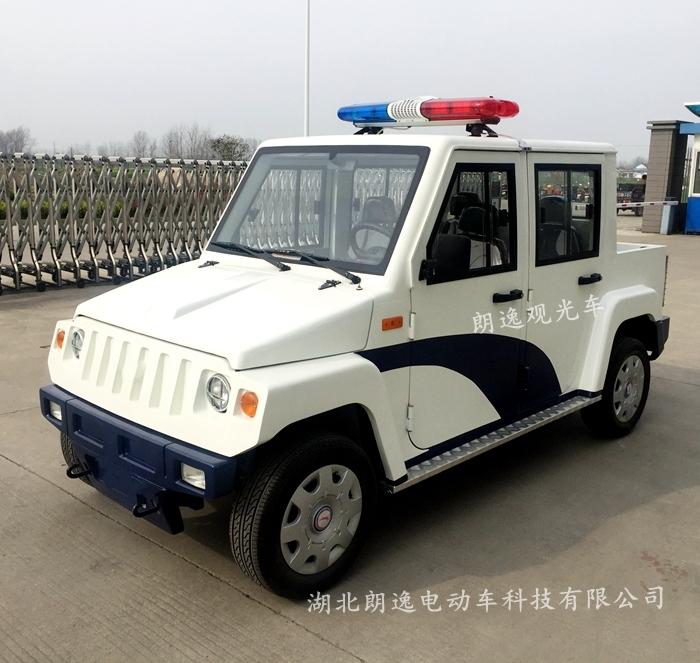 4座封闭电动巡逻车(带货斗)