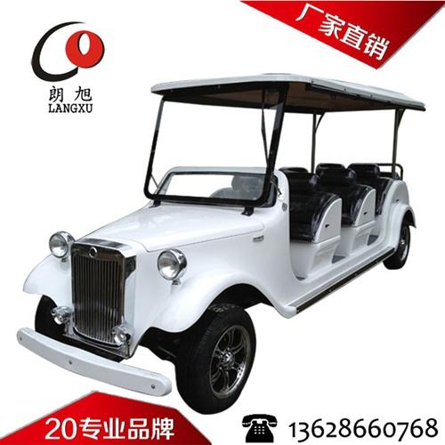 (奔驰款)电动老爷车8座-白色