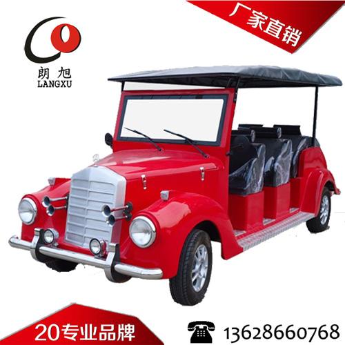 (银魅款)电动老爷车A款8座-大红色