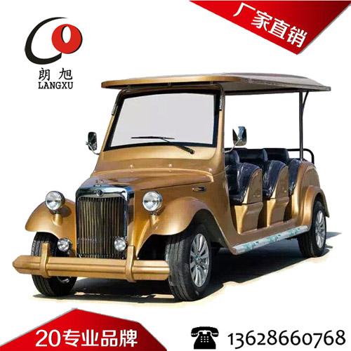 (朗丰款)电动老爷车8座-金黄色
