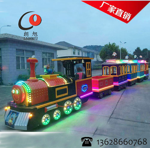 无轨电动小火车-儿童游乐