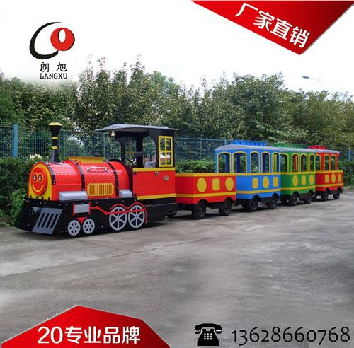 游乐无轨电动小火车
