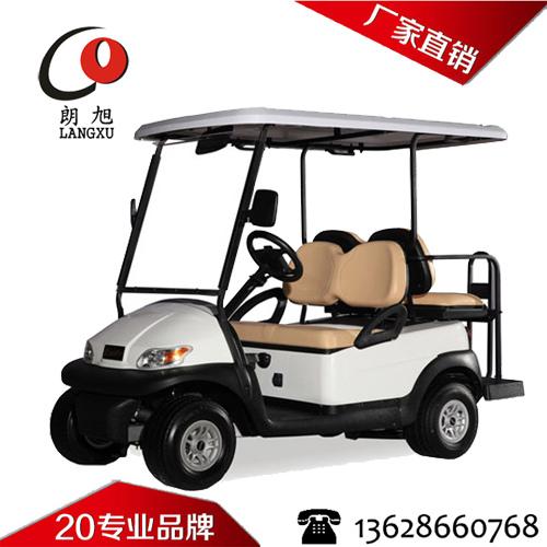 4座电动高尔夫球车-2+2