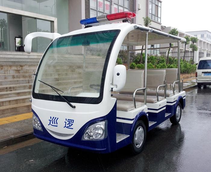 8座电动巡逻车