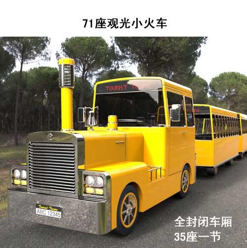 (柴油/汽油)观光小火车-轮式观光小火车
