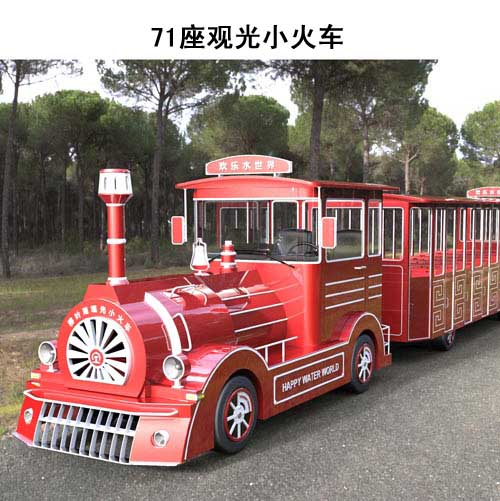 燃油观光小火车-景区燃油观光小火车