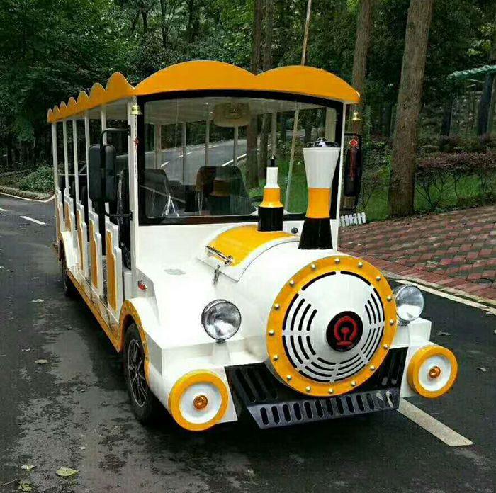 旅游观光火车-可做燃油和电动两种动力