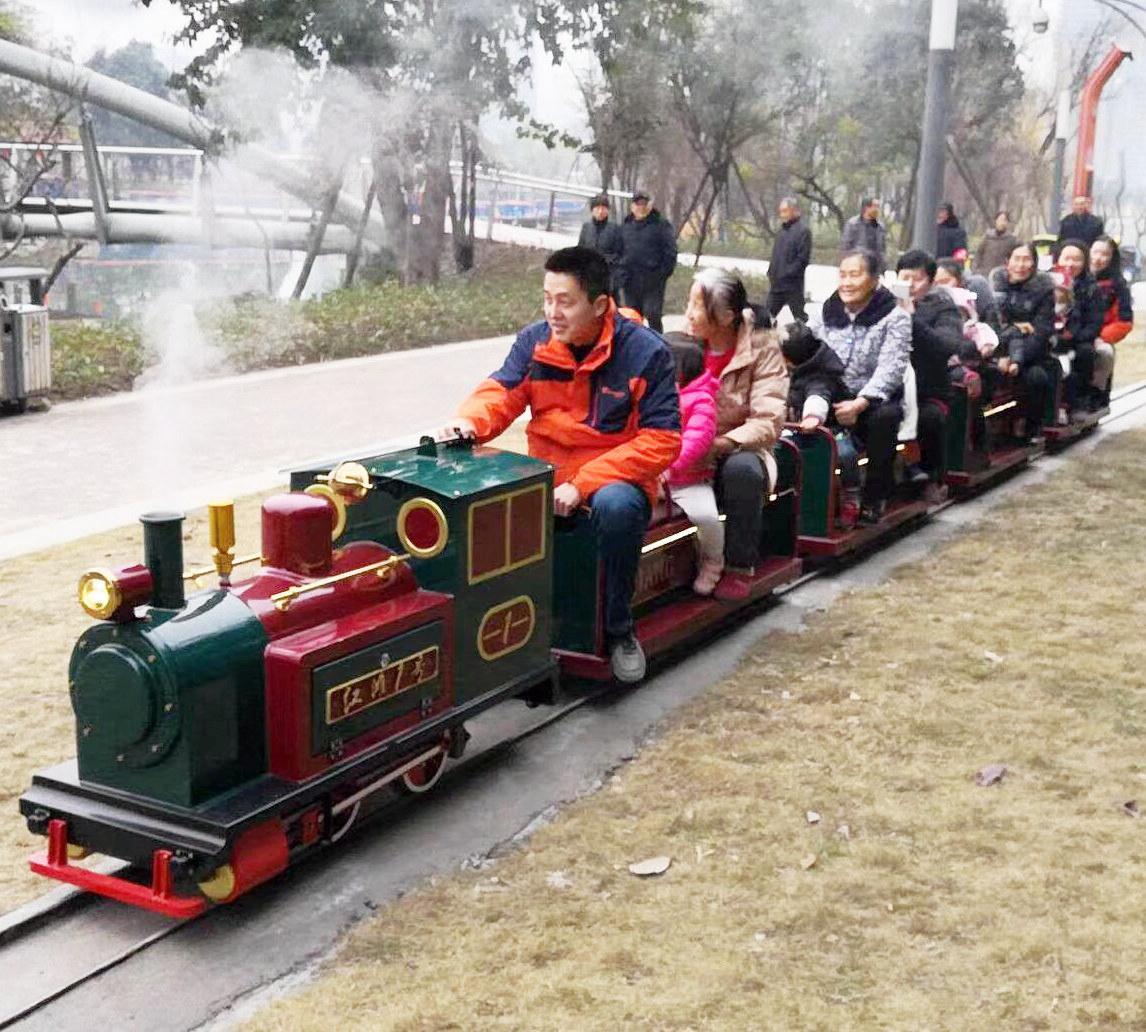 15座轨道观光火车