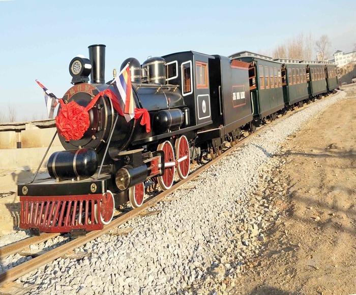 复古轨道观光小火车